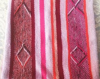 Hand Woven Peruvian Alpaca Cushion Cover 30x30cms