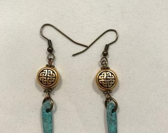 Irish Turquoise Earrings