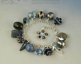 Stormy weather, charms bracelet 50% DISCOUNT