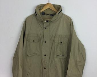 Vintage 90s Polo Sport Ralph Lauren Windbreaker Coat Jacket Size XL