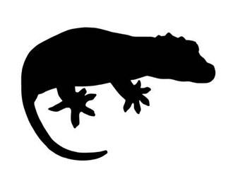 Gargoyle Gecko Decal