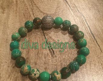 Natural beaded handmade bracelet