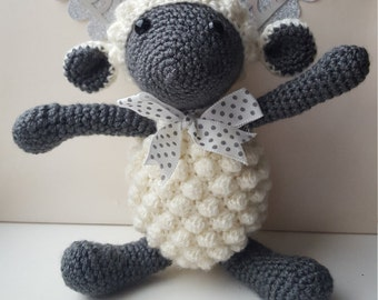 Crochet Sheep Nursery Deco