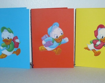 Set of five patterns Huey, Dewey, Louie pack 1