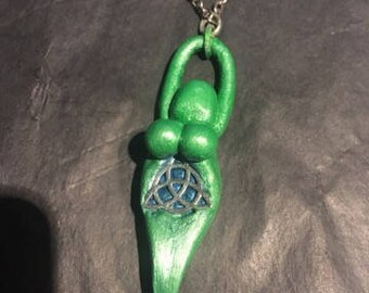 Handmade Triquetra Goddess