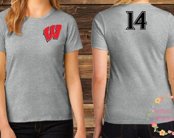 """Team Westshore Baseball Tee - """"W"""""""