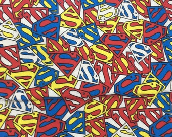 Pretty Superman S Cotton soft lycra Clothing fabric 48*165 cm cotton knit 1/2 yard