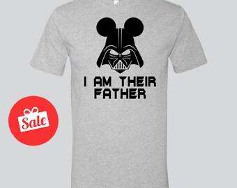 I Am Your Father shirt. Luke Dark. Best Papa Ever. Papa T-shirt Tee Shirt Best No1 Father Gift For Dad Husband Father's Day [N0142,N0137]