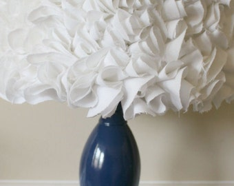 Rose lamp shade etsy white ruffled lamp shade lampshade very beautiful ruffles rose petals aloadofball Gallery