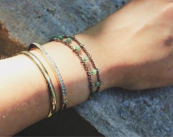 Melon & Chain // Bracelet