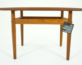 D314 Teak Side Table Danish Mid Century Modern