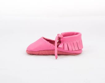 BUBBLE GUM || mary jane moccasin