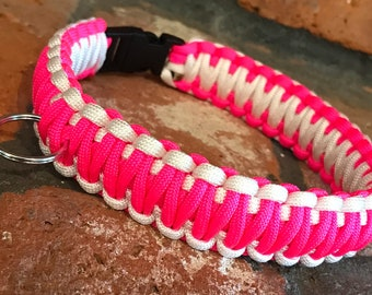 Paracord Dog Collar, One or two colors