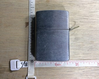 Vintage Zippo Lighter Lid Repaired Used