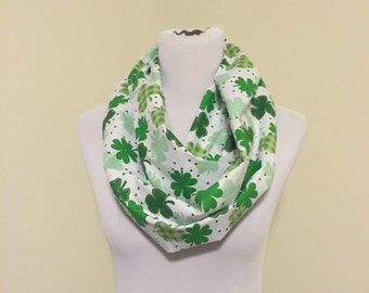 St. Patricks day scarf WILL SHIP QUICKLY