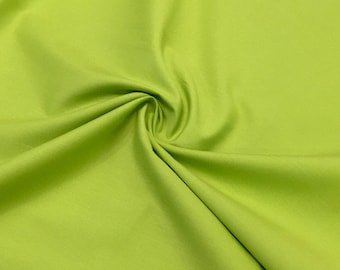 Candy cotton uni cotton lime/green