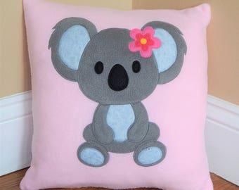 Koala Bear Pillow ~ Girl