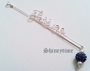 Personalized Bookmark / perfect gift for any ocation / Personalized wire bookmark with name / teacher's gift