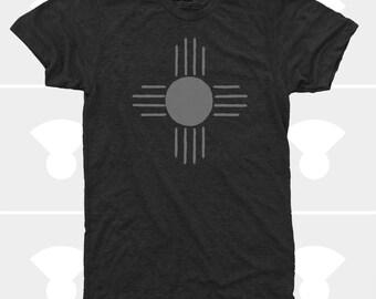 Men's T Shirt, Native Sun, Outdoor Gift Men, Camping Shirt, Hiking Shirt, Fishing Shirt, Adventure Shirt, Nature, Screen Printed Men TShirt