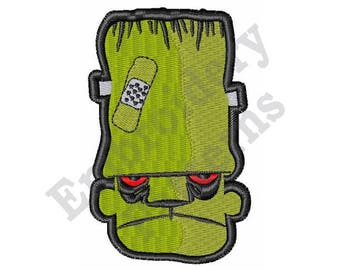 Frankenstein - Machine Embroidery Design