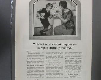 T  Toil    #105  Bauer & Black  Magazine Ad  June 1923