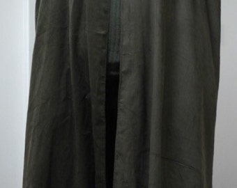 Olive green Corduroy Cloak - Legoslas/Frodo/Lord Of The Rings/LOTR/Pirate/every day wear
