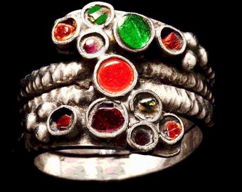 Colorful Vintage Ring