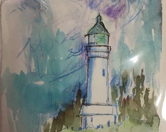 Lighthouses of  Oregon-postcards