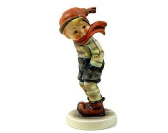 Hummel Figurine March Winds #43 Goebel West Germany TMK 3
