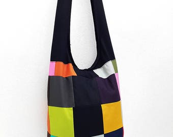 Women bag Handbags Thai Cotton Canvas bag Hippie bag Hobo bag Boho bag Patchwork bag Sling bag Shoulder bag Tote Crossbody bag Purse PWC15