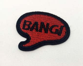 Bang! - Iron on Appliqué Patch