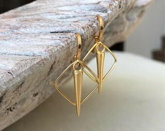 Hoop Earrings, Gold Hoop Earrings, Medium Hoop Earrings, Medium Gold Hoop Earrings, Gold Hoops, Medium Gold Hoops, Medium Hoops