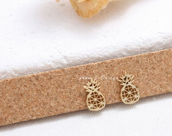 Small Pineapple Stud Earrings