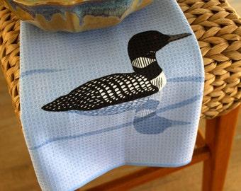 Loon Design Kitchen Towel
