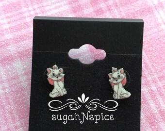 Aristo Cats Earrings - Marie Earrings - Marie Stud Earrings - Marie Dangle Earrings - Aristo Cats Marie Earrings