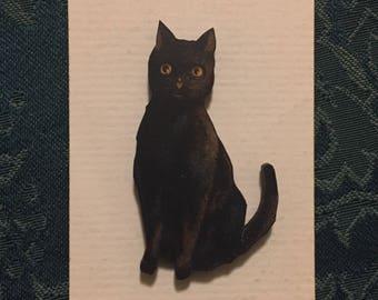 Black Cat Halloween Needleminder