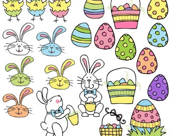KPM Easter digital clip art