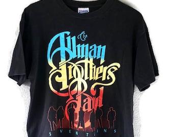 "Vintage 1990 Allman Brothers Band ""Seven Turns"" Tour Shirt"
