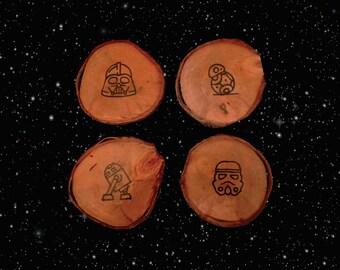 Rustic - Star Wars coasters