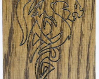 Compact Solid Oak D&D Dice Box ONE DAY DESPATCH