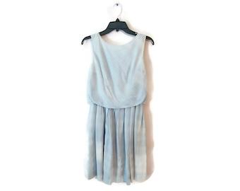 Vintage 1960s Striped Dress Size XS to Small 24 inch waist