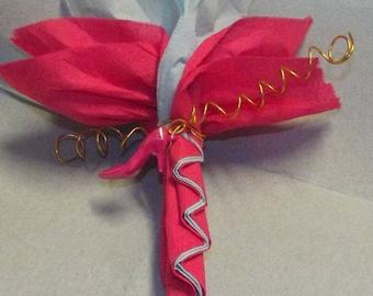 For birthday, christening, wedding napkin folding