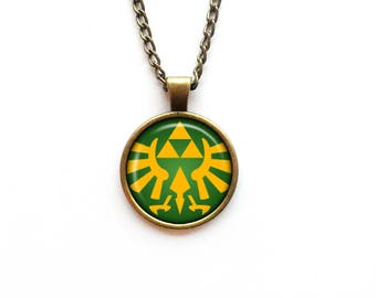 Necklace The Legend of Zelda Triforce