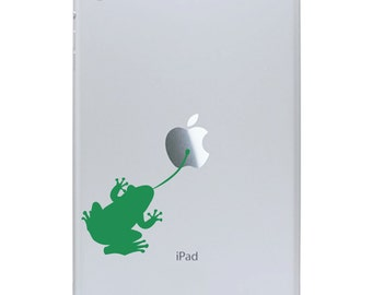Sticky Frog iPad Mini Decal - Frog Tablet Sticker - iPad Decal