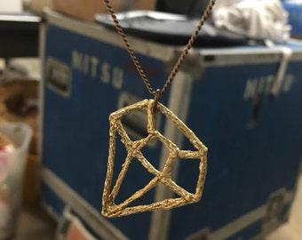 LOLA Brass Necklace