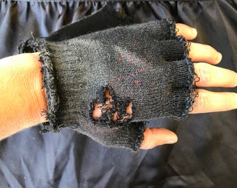 Post-Apocalyptic fingerless gloves