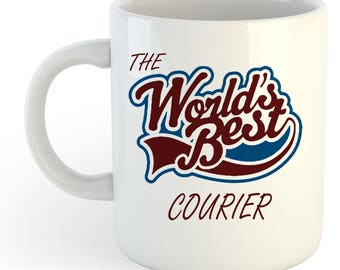 The Worlds Best Courier Mug