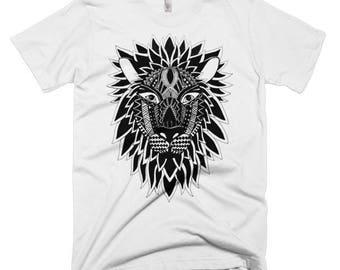 Lion Short Sleeve Men's T-shirt