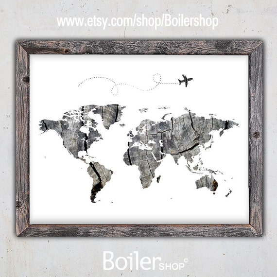 World map print world map download poster printable map gumiabroncs Images