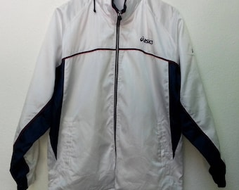 Vintage Asics Windbreake Jacket Hip Hop Sportswear Hoodies